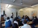 Лекция в Южноуральском колледже