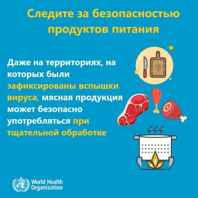 Следите за безопасностью продуктов питания!